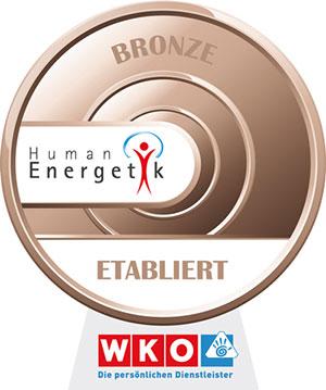 Bronze Qualitätssiegel WKO Humanenergetiker