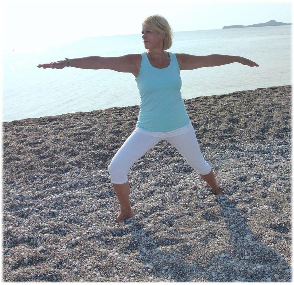 Yoga in Griechenland am Meer